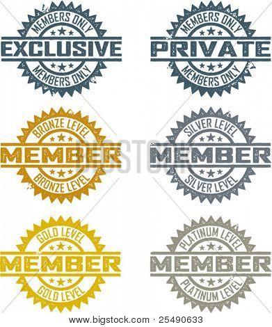 Sellos de membresía