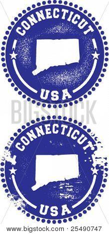 Connecticut USA sellos