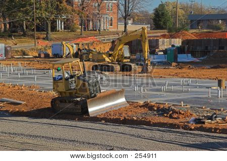 Heavy Equipment New Construction