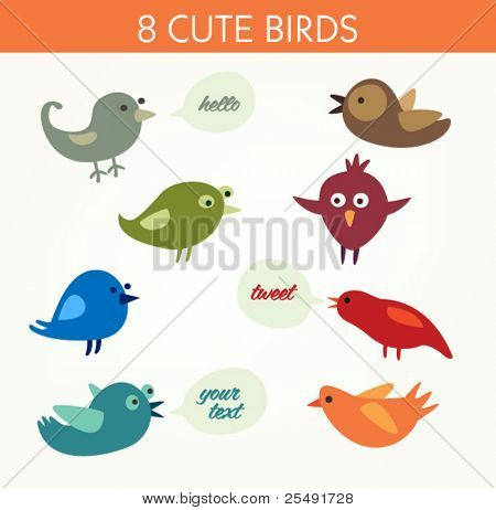 8 aves cute