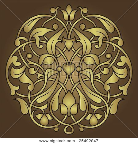 Arabesque ornament background