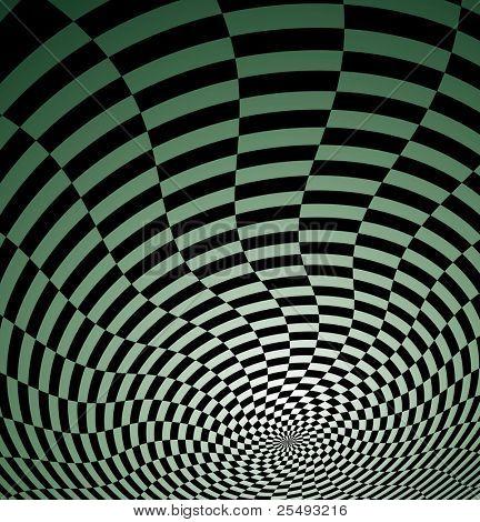 optische Täuschung Tapete