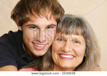 Mother & Son Closeup