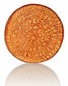 stock photo of minos  - Copy of Phaistos Disc on a white background - JPG