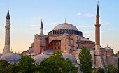 Постер, плакат: Известный византийский собор Святой Софии