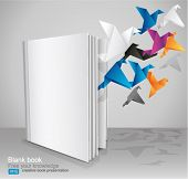 foto of spread wings  - Blank Book - JPG