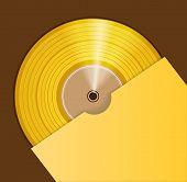 Golden audio CD prize