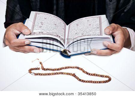 koran - holy book of Muslims