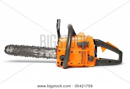 Chain Saw Side View