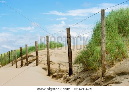 Dunes , The Beach And The Sea