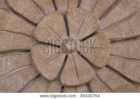 Stone Flower Carving in Jaipur, India