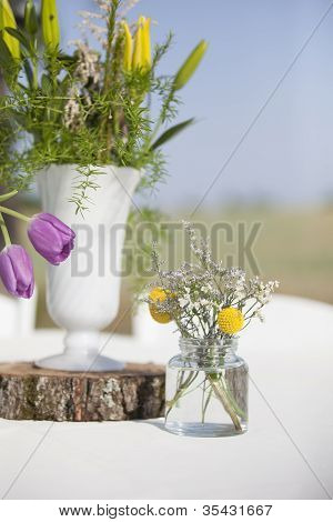 Sunny Flower Arrangements