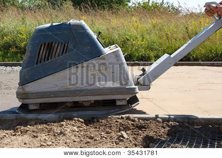 Brick Paver Build New Sidewalk