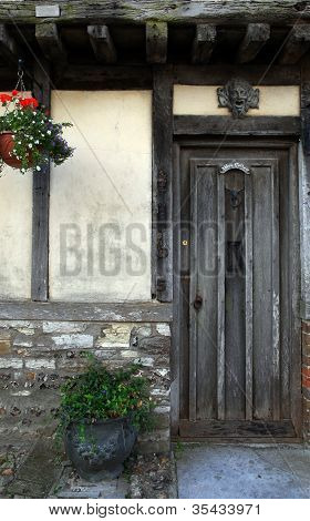 Historic Doorway In Doret England