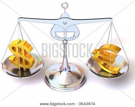 Balance Of Euro And Dollar