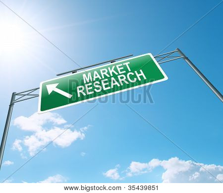 Market Research Concept.