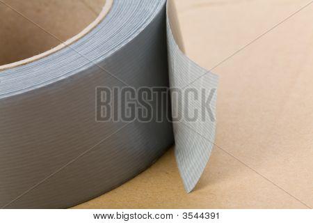 Cinta para ductos gris