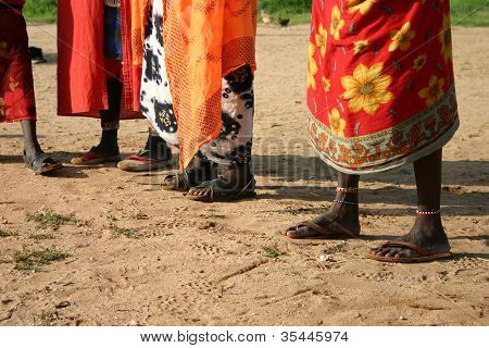 Samburu Shoes, Kenya, Africa
