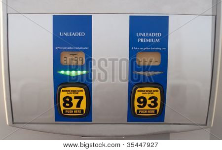 Prices On Gas Pump