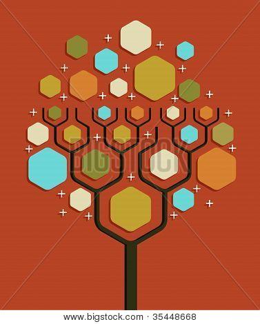 Soziales Netzwerk Geschäft Struktur