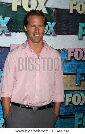 LOS ANGELES - JUL 23:  Nat Faxon arrives at the FOX TCA Summer 2012 Party at Soho House on July 23, 2012 in West Hollywood, CA