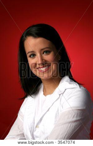 Beautiful Teen With Great Teeth
