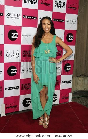 LOS ANGELES - JULY 25: Marisa Quinn at Billabong's 6th Annual Design For Humanity Event at Paramount Studios on July 25, 2012 in Los Angeles, California