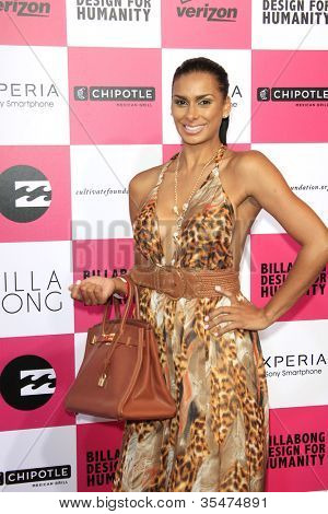 LOS ANGELES - JULY 25: Laura Govan at Billabong's 6th Annual Design For Humanity Event at Paramount Studios on July 25, 2012 in Los Angeles, California