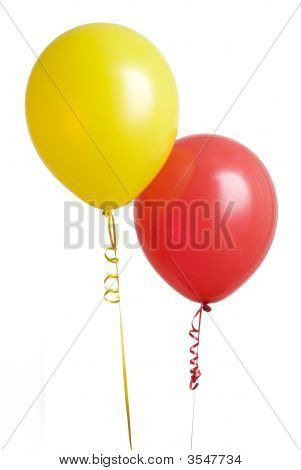 Red And Yellow Balloon