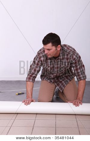 Professional laying floor