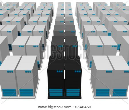Servers From A Webhosting Company