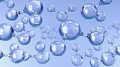 picture of hydrogen  - Molecules of Water - JPG