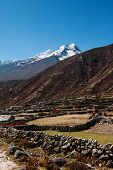 stock photo of sherpa  - Himalaya landscape - JPG