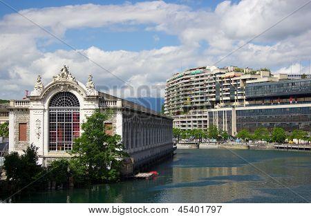 Center of Geneva