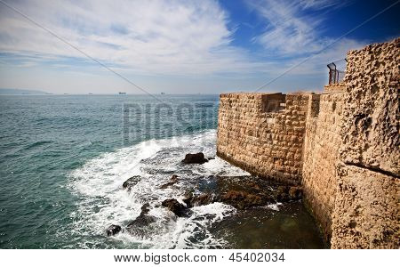 Old Acre Wall