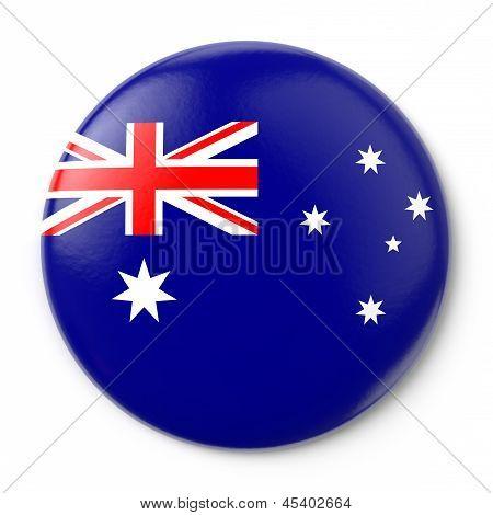 Australia Pin-back