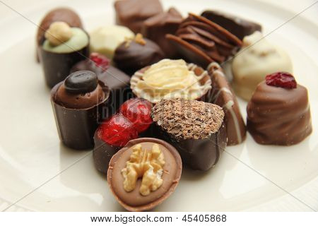 Luxury Belgium Chocolates