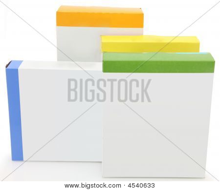 Blank Label Food Boxes