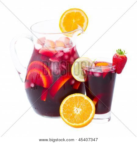 jar of sangria