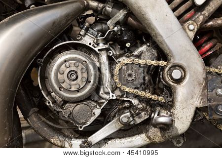 Powerful Engine Of The Modern Motorcycle