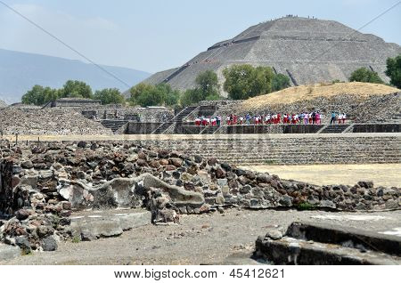 Pir�mides de Teotihuacan, M�xic