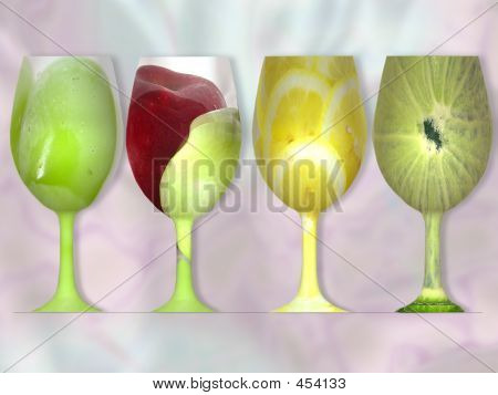 Glass Fruits