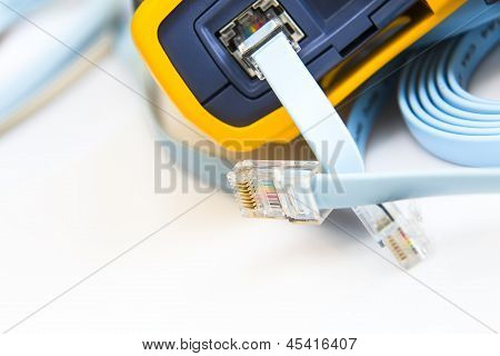 Network Cable Tester For Rj45 Connectors