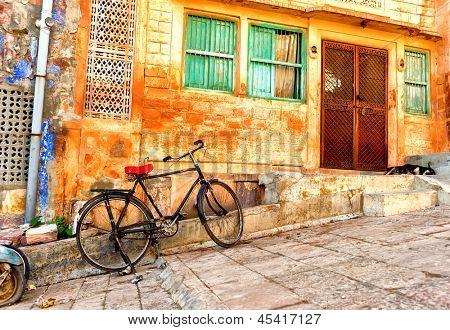 India Rajasthan  Urban scene