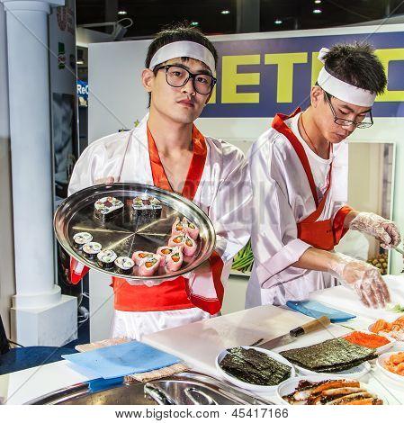 Cooking Oriental Cuisine