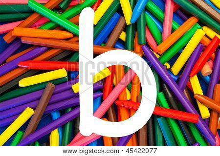 Letter B - Alphabet - Lower Case - Education / Schools / Teaching.