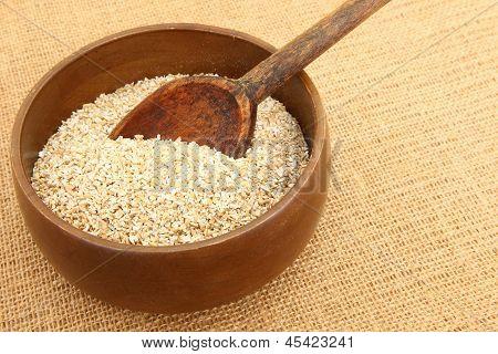 Steel Cut Oatmeal In Bowl