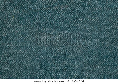 Background Of The Old Green Leatherette