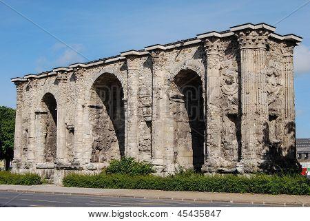 Porte Mars, Reims, France
