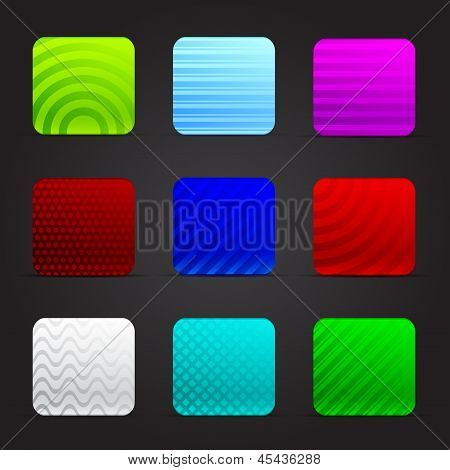Conceptual Illustration Of Colorful Squares
